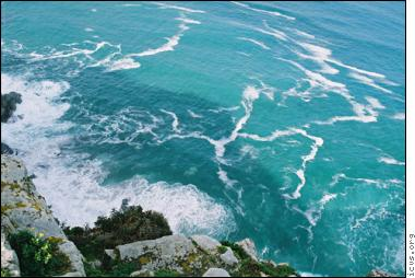 © ICV: Various currents meet at the Cape of Good Hope